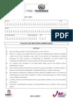 [Jucepe] Prova para analista de registro empresarial
