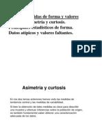 asimetria y curtosis