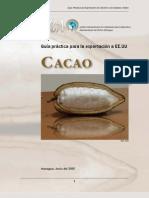 Para Exportar Cacao