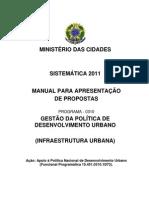 Manual Infraestrutura Urbana 2011 - 1D73