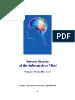 Success Secrets of the Subconscious Mind