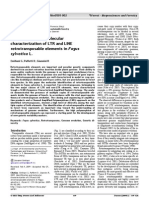 Identification and Molecular Characterization of LTR and LINE