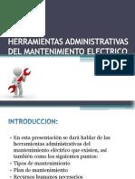 Herramientas Administrativas Del Mantenimiento Electrico (1)