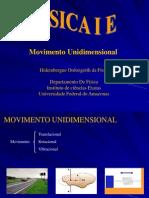 Movimento Unidimensional