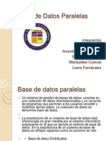 Base de Datos Paralelas