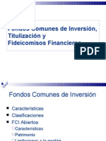 FCI,SGR,FIDEICOMISOS