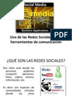 Redes Sociales en La Comunicacion Clase 12