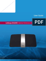 Linksys e4200 Manual