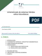 Dimension Ado Sistemas Hibridos Eolico-Fotovoltaicos