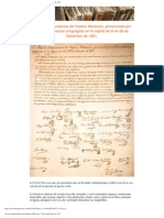 Acta de In Depend en CIA Del Imperio Mexicano _ 28 de Septiembre de 1821