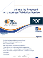 201235 McDonald, David an Insight Into the Proposed NTG Address Validation Service