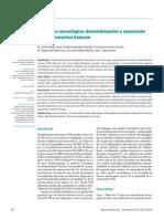 Trastornos neurológicos desmielinizantes vinculados a la vacuna del virus de papiloma humano (VPH) 2011