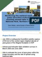 201239 Walden, Dave Monitoring Wetland Weeds Using Remotely Sensed Data in Kakadu National Park, Northern Territory, Australia