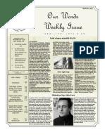 Newsletter Volume 4 Issue 08