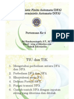 DFA & NFA