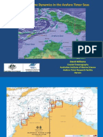 201250 Willams, David Coastal and Estuarine Dynamics in the Arafura and Timor Seas