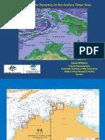 201250 Willams, David Coastal and Estuarine Dynamics in the Arafura and Timor Seas