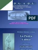 PIEDRA CUBICA