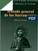 Arnau, Ramon - Tratado General de Los Sacramentos