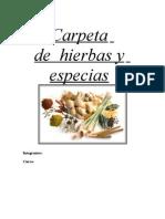 Especias y Hiervas Aromatic As