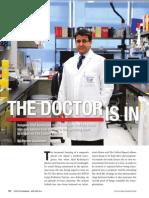 Dr. Shaf Keshavjee, Lung Transplant Guru