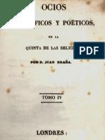 Ocios filosóficos y poéticos en la Quinta de las Delicias. T.IV. 1829