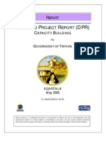 Detailed Project Report (DPR) on Capacity Building