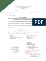FL Ethics Commission Determination Result of Complaint Filed Against Judge Richards