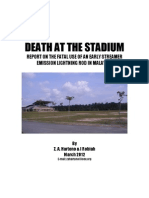 Death at the Stadium