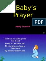 A BABY'S PRAYER  @