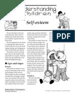 Understanding Children Self Esteem