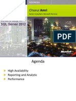 Choirul Amri - SQL Server 2012 - New Features