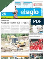Edicion Lunes 26-03-2012