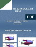 Consumo Gas Chile 2000-2005