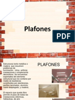 Acabados en Plafones