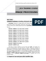 Image Processing by GRASS GIS