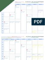 BDR Calendar 26 Marzo - 3 Junio 2012