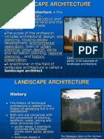 Kuliah 1 Landscape Architecture