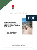 Bienes Publicosyfocalizacion-casod Loscaminosruralesenelperu