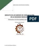 IMPACTO DE LOS MEDIOS DE COMUNICACIÓN EN LA SOCIEDAD MEXICANA