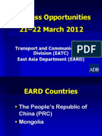 5-4 Transport_ICT-EARD Final 20Feb2012 by Cai Li