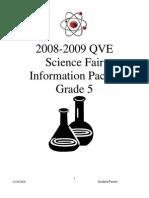 QVE Science Fair Packet