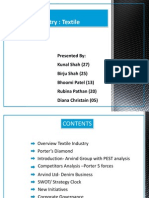 Strategic Management - Textile Industry ( Arvind Ltd)