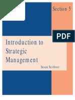 Introduction to Strategic Management En