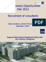 2 Recruitment of Consultants - Galia Ismakova