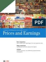 UBS Prices and Earnings CompOfPurchPowerAroundTheGlobe
