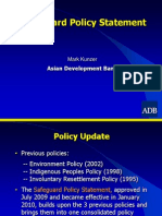 ADB General - 2 Safeguard Policy - Mark Kunzer
