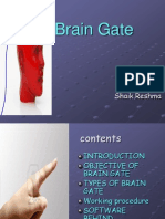 Brain Gate Ppt