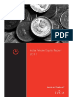 IVCA Bain India Private Equity Report 2011