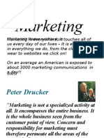 1. Introduction to Marketing